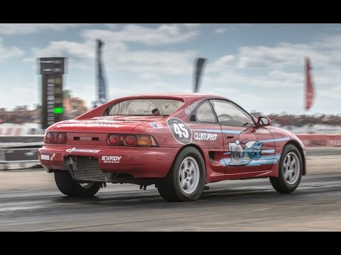 SEC - Fastest and quickest Toyota MR2 in Europe, second fastest Toyota MR2 in the World — Ivan Vasilyev's Toyota MR2 Club Turbo on Russian Drag Racing Championship Stage 5 in Crimea 2014. 1/4...
