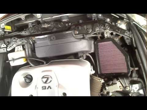 How To Change Air Filter Lexus GS 2006+ DIY Guide