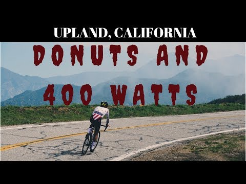 Phil vs. Tour of California - Glendora Mountain Road (GMR) KOM with Power (and Donuts)