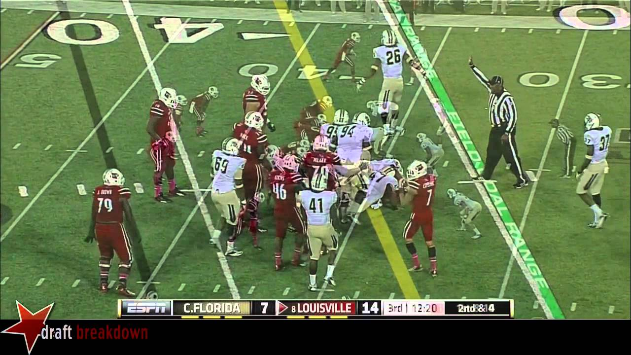 Dominique Brown vs UCF (2013)