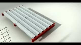 Laje em Steel-Deck Sobre Vigas-mistas
