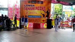 SENAM RECHA_Juara 1 Lomba Senam Recha Kabupaten Kebumen