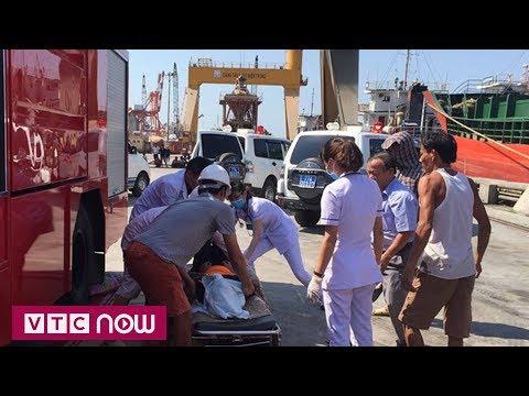Bình Định: 3 công nhân chết ngạt dưới hầm tàu | VTC1 - Thời lượng: 58 giây.