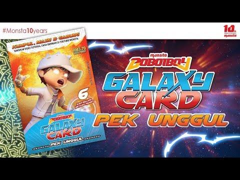 #BoBoiBoyGalaxyCard ✨PEK UNGGUL✨ - Paket BoBoiBoy Cahaya ✨ - Thời lượng: 90 giây.