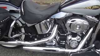 7. U1191 2009 HARLEY-DAVIDSON FLSTN SOFTAIL DELUXE FOR SALE