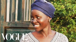 While in Kisumu for her Vogue cover shoot, Lupita Nyong'o stopped by her parents' home for a walk through their farm with her father, to climb fruit trees, and to ...