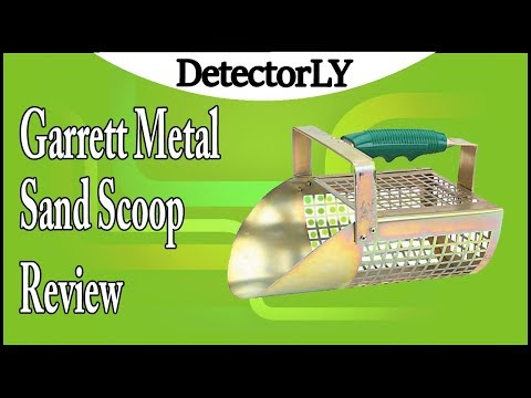 Garrett Metal Sand Scoop Review