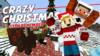 Minecraft - CRAZY CHRISTMAS [13] - SANTA'S FUNKY SLEIGH!? (with TankMatt)