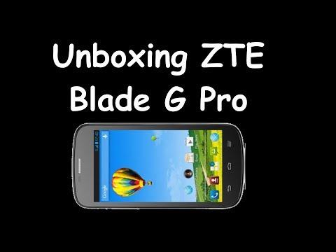 Unboxing y primer contacto ZTE Blade G Pro
