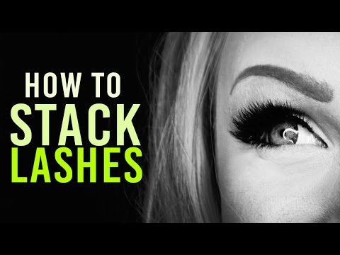 1 Minute Makeup Tutorial: Stacked Eyelashes
