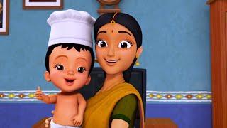 சிட்டியின் சமையல் ரெடி | Tamil Rhymes for Children | Infobells