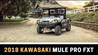 8. 2018 Kawasaki Mule Pro FXT First Look