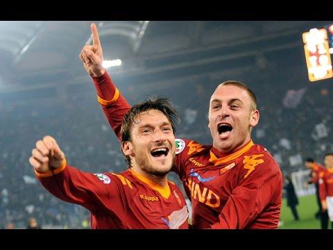 totti e de rossi! la storia di roma!