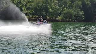 7. 2018 Yamaha VX Deluxe first day Lake Lanier.