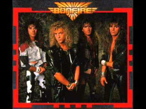Bonfire - Angel In White (видео)