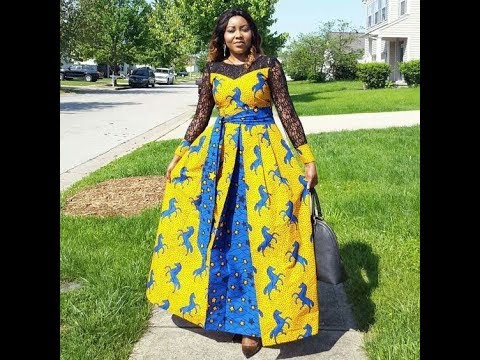 LATEST #ANKARA 2019: MOST POPULAR AFRICAN PRINT DRESSES 2019