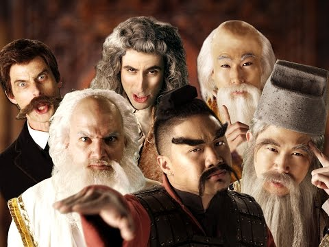 Eastern Philosophers vs Western Philosophers.  Epic Rap Battles of History Season 4.