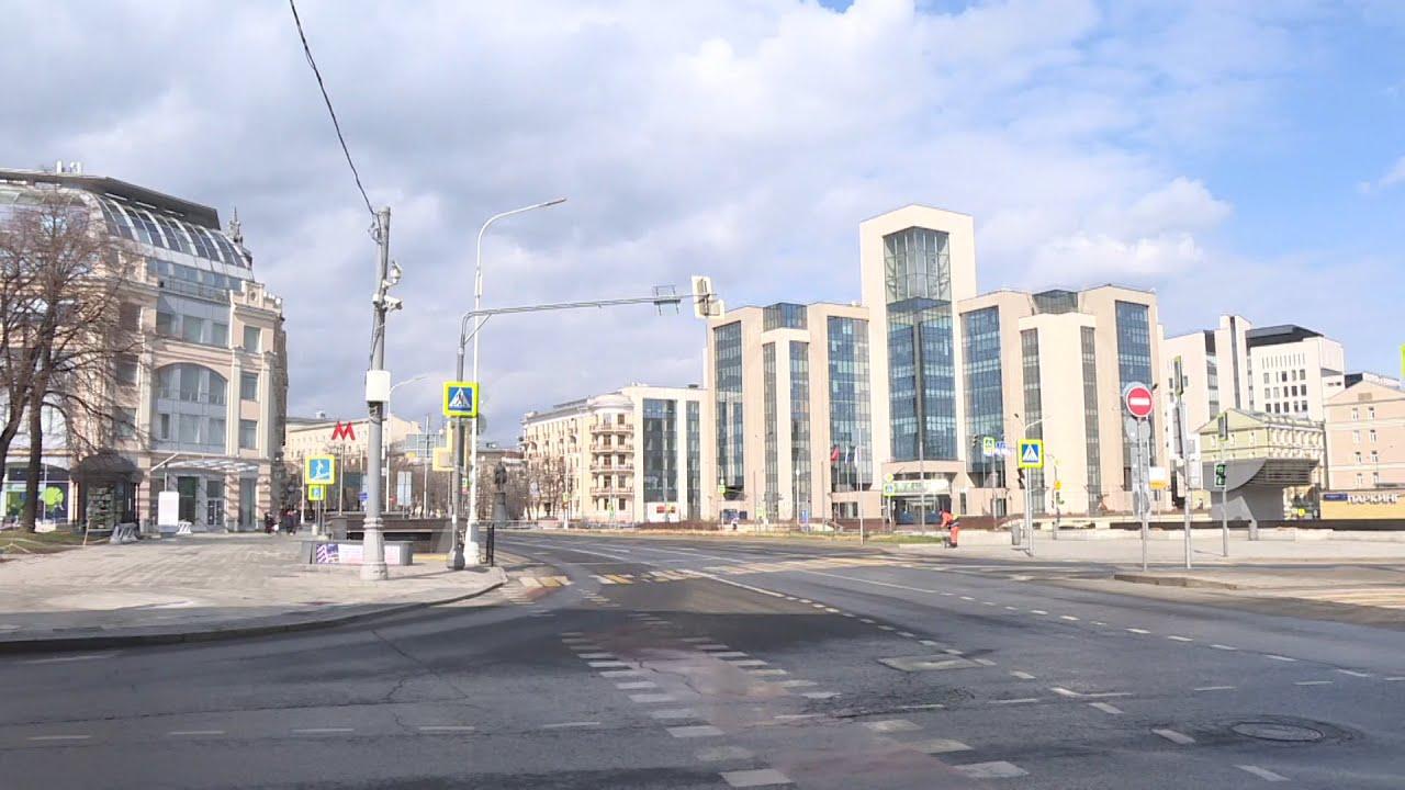 Самоизоляция в Москве: как выглядит столица после введения ограничений из-за коронавируса