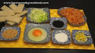 Sesame Prawn Shrimp Toast Recipe How To Cook Great Food Asian Chinese