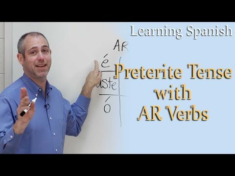 Preterite Tense W/ Ar Verbs | Spanish For Beginners