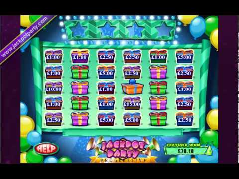 £52,603.66 MEGA JACKPOT PROGRESSIVE (17534 X STAKE) WIZARD OF OZ™ BIG WIN SLOTS AT JACKPOT PARTY