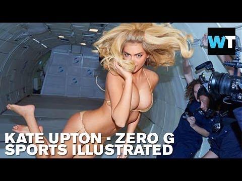 Kate Upton - S.I. Zero G Photo Shoot!