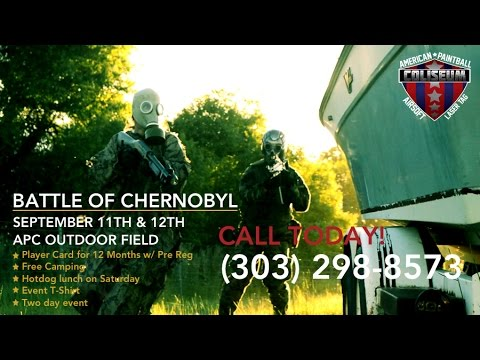 **TRAILER** - BATTLE OF CHERNOBYL - AIRSOFT BATTLE  - 2015