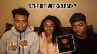 "Video THE WEEKND ""MY DEAR MELANCHOLY"" ALBUM REACTION! 