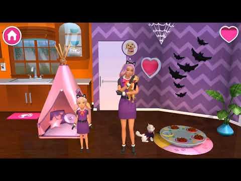 Barbie Dreamhouse Adventures - Stacie Dress Up for Halloween, Unlock More Decoration