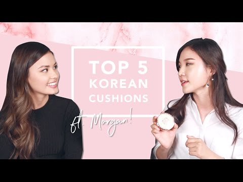 Video TOP 5 Korean Cushion Recommendations w. The Beauty Breakdown download in MP3, 3GP, MP4, WEBM, AVI, FLV January 2017