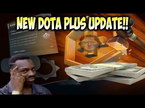 Predicted! New Dota Plus Update! Ranked Roles! Chat Wheel! Tipping! And Dota Plus Give Away!