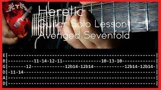 Watch the performance: https://www.youtube.com/watch?v=v7-P1ktQsaYFacebook: http://www.facebook.com/rockerthemetalInstagram: https://www.instagram.com/rockerthemetalAsk for a lesson: https://www.patreon.com/user?u=2894674Tuning: D A D G B ESong: Heretic - Band: Avenged Sevenfold.Equipment:-Ibanez S 920-Reaper-IK Amplitube 4-Amplifier Roland Cube 30x-Digitech Rp350-Audacity-Samsung HMX-H200 Full HDThank you for watching this video!Subscribe!
