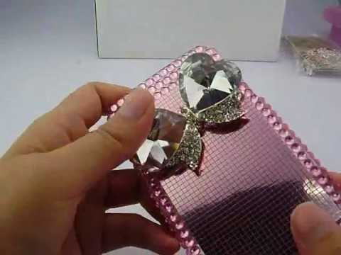 iphone 4S pink case - http://www.sw-box.com/Super-Quality-Crystal-Bowknot-Diamond-Rhinestone-Hard-Case-Cover-For-iPhone-4S-iPhone-4-Pink.html This rhinestone case for iPhone 4S is...