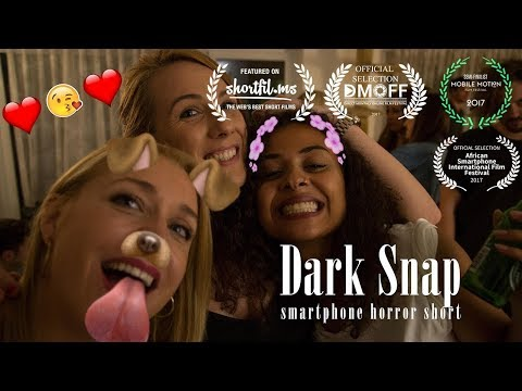 """Dark Snap"" - Award-winning Smartphone Horror Short Movie"