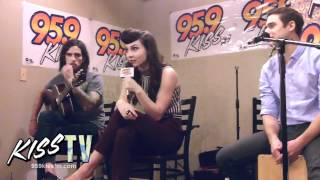 "Karmin ""Brokenhearted"" (live acoustic)"