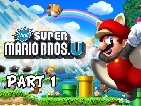 U - New Super Mario Bros. Wii U Walkthrough - Part 1 Acorn Plains Let's Play WiiU Gameplay Commentary http://youtu.be/0NnhWpI-EPM New Super Mario Bros. Wii U Wal...