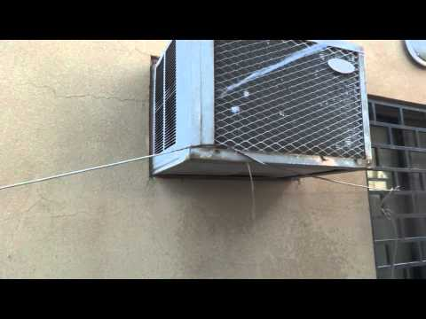 Room air conditioner common defect repair. DIY easy fix.