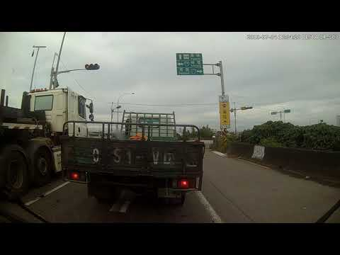 西濱 鹿港福興段 車禍 貨櫃車撞自小客