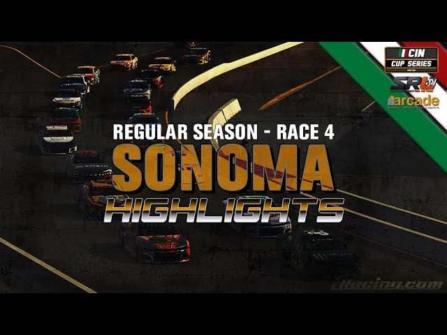 CIN CUP SERIES 2020 Gara 4 Nabbi.it Sonoma 175 Highlights