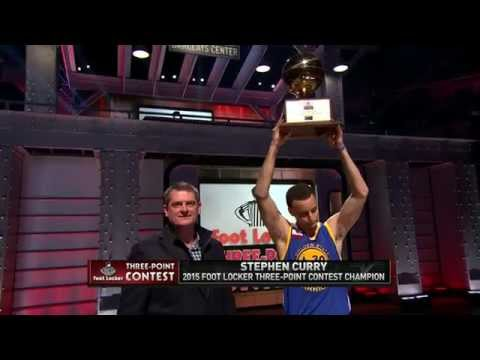 Video: Stephen Curry Wins the 2015 Foot Locker Three-Point Contest