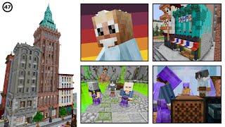 MASSIVE Aque Town Upgrades! :: Hermitcraft #47