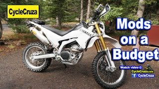 5. Yamaha WR250R Mandatory Mods  (On a Budget)