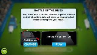 Stick Tennis Gameplay - Daily Challenge