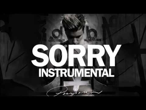 Justin Bieber - Sorry Instrumental (HQ)
