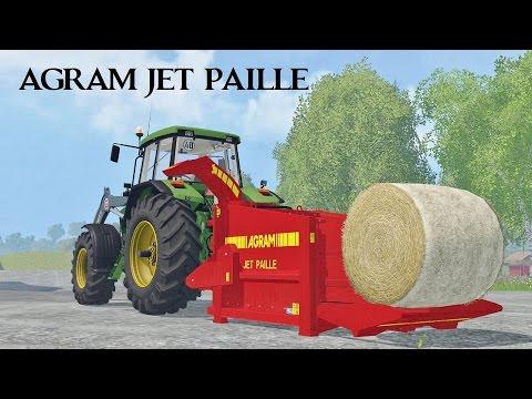 Straw blower Agram jet paille v3.0