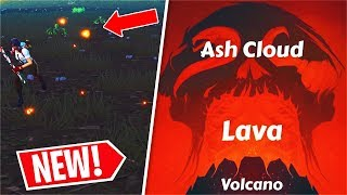 The FORTNITE VOLCANO will DESTROY WAILING! (Volcano LOCATION)