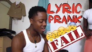 Lyric Prank Gone Wrong She Walks in On Me!