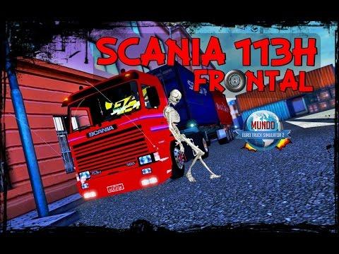 Scania 113H Frontal RBR - Euro Truck Simulator 2: