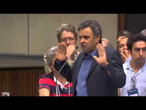 Convenção Estadual do PSDB-MG – Aécio Neves fala sobre eleições 2014
