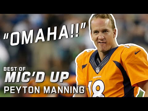 """Omaha!!"" Best of Peyton Manning Mic'd Up"